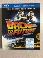 Back to the Future: 25th Anniversary Trilogy (Blu-ray Disc, 2010, 3-Disc Set)