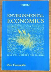 Pre-Owned Environmental Economics by Dodo Thampapillai
