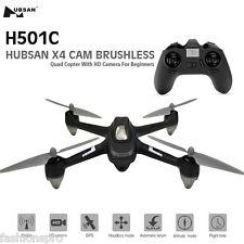 Hubsan X4 h501c sin escobillas RC cuadróptero con 1080p Cámara HD uno llave A