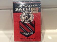 RARE-NEW in Original PACKAGE-SIR WALTER RALEIGH THERMO SEALED POUCH PIPE TOBACCO
