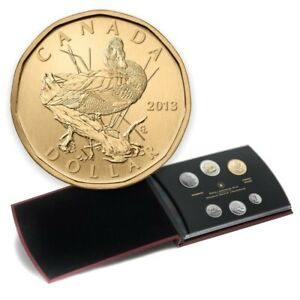 2013 Canada Specimen Set with Blue-winged Teal Loonie