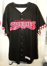 Franklyn Kilome Binghamton Rumble Ponies Game Worn Jersey Spiedies Theme Mets