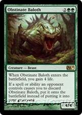 OBSTINATE BALOTH M11 Magic 2011 MTG Green Creature — Beast RARE