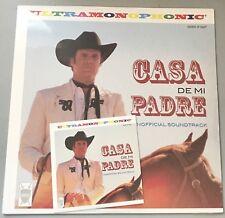 Casa De Mi Padre - Promo SEALED Vinyl LP Soundtrack + CD - Will Ferrell