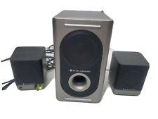 Altec Lansing 221 Amplified 2.1 Computer Audio Speaker System w/Power Subwoofer
