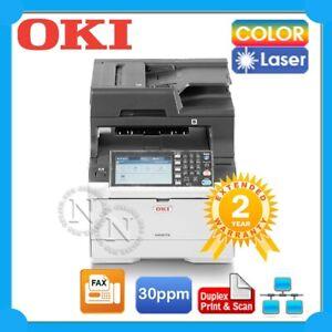 OKI MC573dn 4in1 Color Laser Network MFP Printer+Duplex Print/Scan+ADF ES5473DN