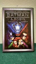 Batman & Robin DVD Arnold Schwarzenegger, George Clooney, Chris ODonnell & More