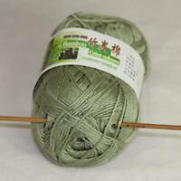 Sale Lot 1 Ball x50gr Soft Bamboo Cotton Baby Wrap Hand Knitting Crochet Yarn 20