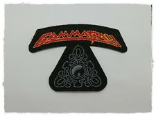 Gamma Ray Patch Sew Iron On Embroidered Craft Transfer Rock Band Power Metal DIY