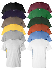 Gildan Men's Heavy Cotton Tee Bulk (Pack of 12) Assorted Mixed Colors Small-5Xl