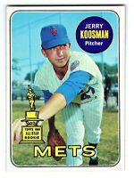 1969 Topps Card #90 Jerry Koosman (New York Mets) NM