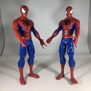 "Spiderman 11"" Inch Marvel 2013 Hasbro Action Figure Set Lot of 2"