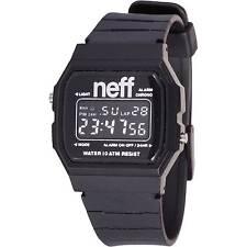 Neff Men's Flava XL Surf Watch Black digital water resistant unisex timepiece
