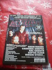 METALLIAN MAGAZINE 10/99 French Moonspell Bal sagoth Virgin steele OOP rare