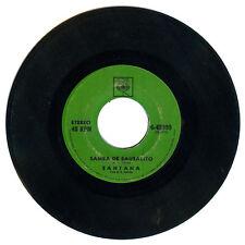Philippines SANTANA Samba De Sausalito 45 rpm Record