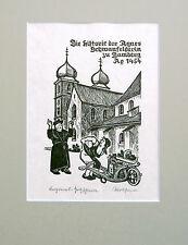 Rother, Bamberg, Kitzingen, Original, handsigniert, verzeichnet, Main, Würzburg