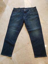 LUCKY BRAND MEN'S 221 STRAIGHT FIT DENIM DARK BLUE JEANS 40X30 $119 BRAND NWT