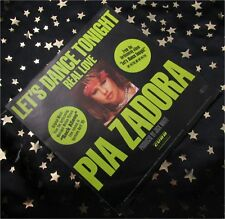 PIA ZADORA - Let´s dance tonight / Real Love * 1984 * TOP SINGLE (M-:) TOP COVER