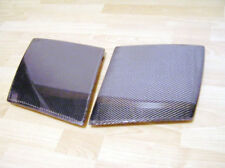For Mazda RX7 FC3S  Glossy finish Real Carbon Fiber 2pcs OEM Headlight Cover kit