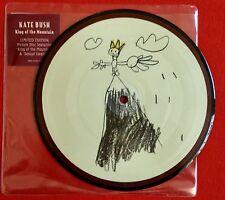 "KATE BUSH - King Of The Mountain - Original UK 7"" Picture Disc (Vinyl Record)"