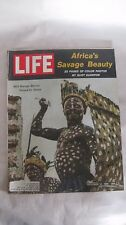 Life Magazine October 13th 1961 Africas Savage Beauty Color Photos By Time mg726