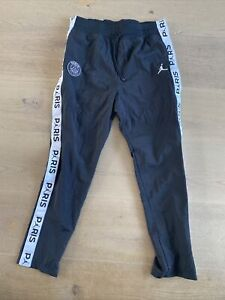 NiKe air jordan X Psg Tracksuit Bottoms Detail Uk Mens Medium Used Once No Tags