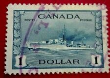Canada :1942 -1943 King George VI 1 $. Rare & Collectible Stamp.