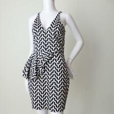 TALULAH rrp $240  Sleeveless Black and White Sheath Dress Size Small