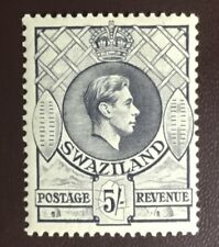 Swaziland 1938-54 5s Grey Perf 13.5x13 MH