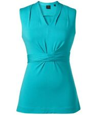 SIZE M DAVID LAWRENCE EMERALD TIE FRONT TOP BNWT $89🌷 FREE POST ON ANY 5 ITEMS