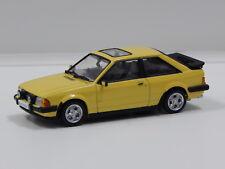1:43 1981 Ford Escort Mk3 XR3 (Prairie Yellow) Vitesse 24836R