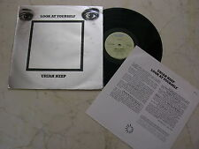 Uriah Heep LOOK AT YOURSELF * RARE Unique DIFF. 70s New Zealand issue VINILE LP *