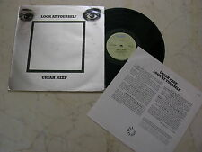 URIAH HEEP Look At Yourself *RARE UNIQUE DIFF. 70s NEW ZEALAND ISSUE VINYL LP*