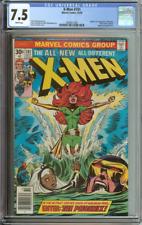 X-MEN #101 CGC 7.5 WHITE PAGES // ORIGIN/1ST APPEARANCE OF PHOENIX 1976