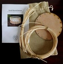 Small Round Basket DIY Weaving Kit For Children/Beginners. Unwanted Gift
