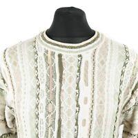 Vintage Cosby Sweater | Jumper Knit Knitwear 3D Biggie 90s Hip Hop Retro