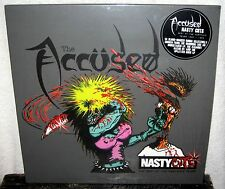 THE ACCUSED Nasty Cuts LP PUNK ROCK Crossover HARDCORE The Fartz POISON IDEA DRI