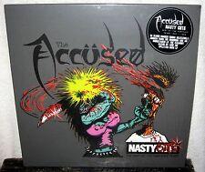 THE ACCUSED Nasty Cuts LP PUNK ROCK Crossover HARDCORE The Fartz POISON IDEA DRI