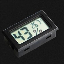Mini Termómetro Higrómetro Digital LCD Interior Humedad Medidor Temperatura