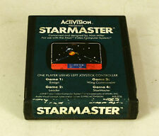 Atari 2600 game Starmaster Tested and Working