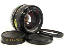CANON FD 55MM F1.2 S.S.C. FAST PRIME LENS *NR MINT CONDITION - VERY CLEAN OPTICS