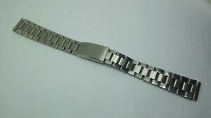 Vintage Imado Stainless steel ladies watch bracelet by Stelux 13mm