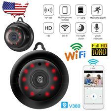 1080P Wireless WiFi CCTV Indoor/Outdoor HD MINI IP Camera CAM Home Security IR