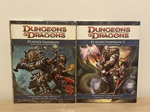 Dungeons And Dragons 4th Edition Players Handbook 1 & 2