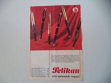 advertising Pubblicità 1965 PENNE PELIKAN P20/MK 20/30/M 60/120
