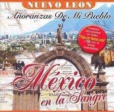 Bronco, Los Mier, Los Plebeyos Mexico En La Sangre Nuevo Leon CD New Sealed