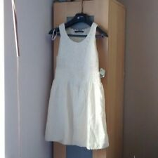 Zara cream lace dress