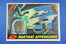 1962 Topps Bubbles - Mars Attacks - #2 Martians Approachins (Tape Residue) - Ex