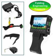 "CAMERA TESTER 4.3"" TFT LCD MONITOR CCTV Security Surveillance Tester Vedio Audio"