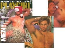 PLAYGIRL Holiday 1990 AL PACINO HAIRY COLE SCOTT HAIRY DIRK SHAFER DEBUT COLORAD